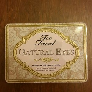 Other - too faced natural eyes palette